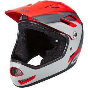 Bell Sanction Kask rowerowy, czerwony/szary